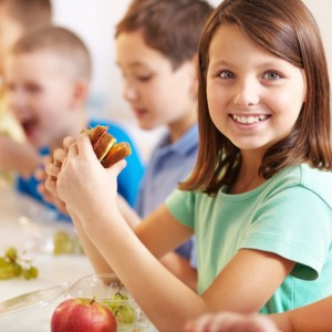 School lunch and school smiles