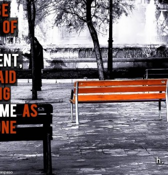 Don't be afraid of being different – Be afraid of being the same as everyone else